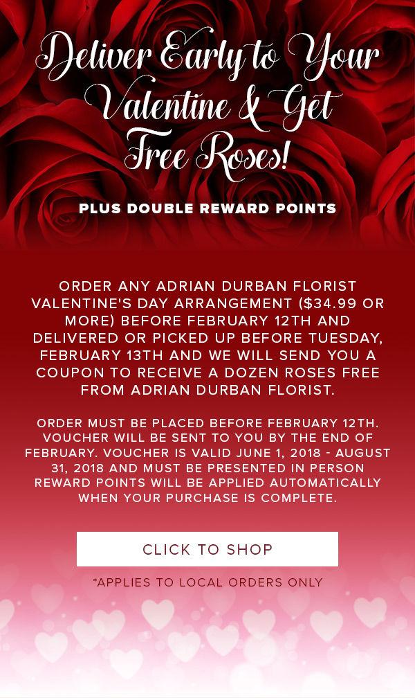 Free Rose Offer